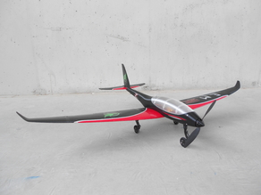 RC plane fuselage - Eclipson model Z