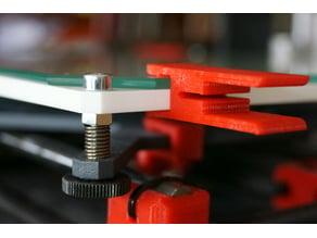 Printing Bed Clamp - Hephestos 2017