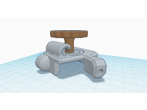 CR-10 Extruder Cover w/ Guide and Long Shaft Extruder Knob