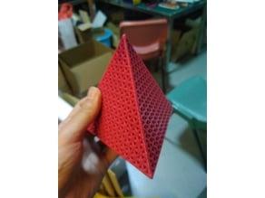 Octahedron Fractal plus tetrahedron