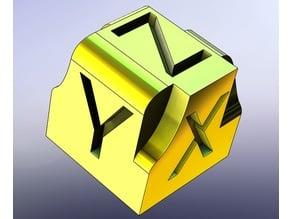 醜醜的方塊 XYZ Ugly Cube