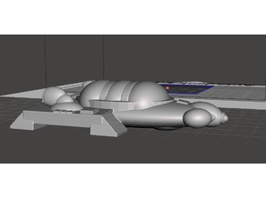 Robotech Empire Tirol Enclosed Hover Car 3 pod-line