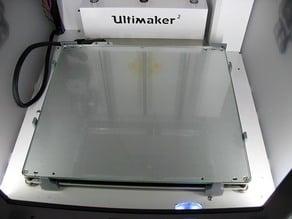 Halterung für Glasscheibe beim Ultimaker 2 v1.0