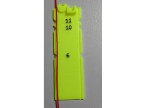Extruder ruler V2