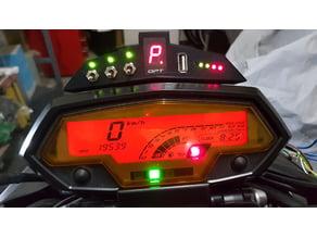 Kawasaki z1000 2010 box usb, battery check, gearbox