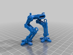 Mech Walker legs onepiece version, 28mm scale