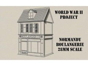 Normandy Boulangerie - S.N.A.F.U WW2 Wargame System