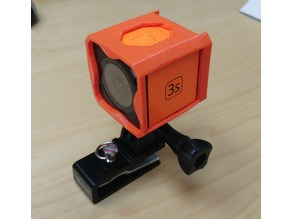 Runcam 3S casing with mount