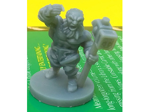Epic Dwarf Miniature