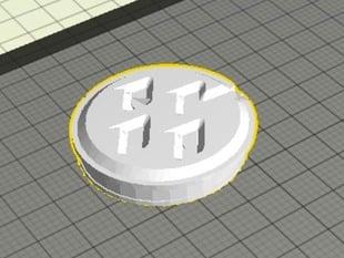 GT86 center cap