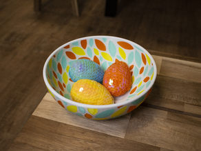 Multi-Color Fruit Bowl