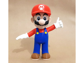 Mario from Mario games - Multi-color