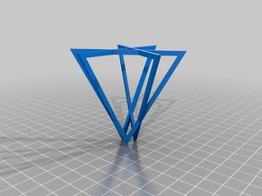 My Customized OpenSCAD Triangle Pattern Experiment