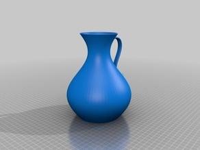 Vase with handle