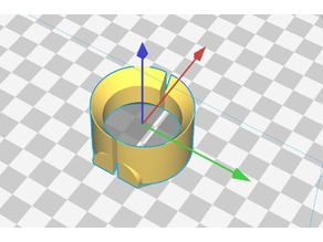 Shimano FH-IM70 spacer ring for Garmin ant+ sensor - OpenSCAD source