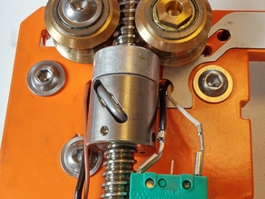 Stepcraft ballscrew nut holder