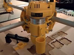 Universal mount for MPCNC Dewalt 611, D26200, D26204 with dust shoe