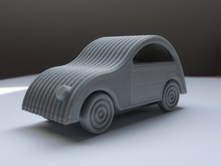 Little Printed Cars: 2CV tribute