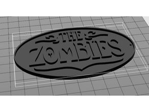 The Zombies (Band) Keychain