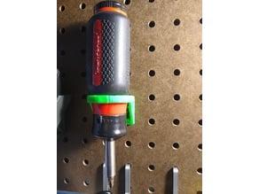 Pegboard Large Screwdriver holder 36mm Hole
