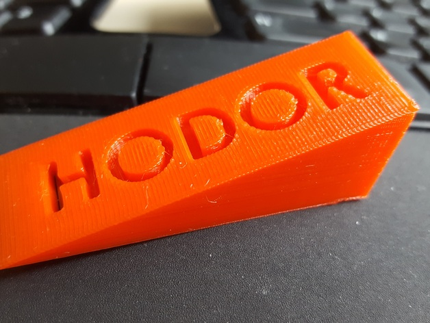 & Hold the Door - Hodor by Magno - Thingiverse