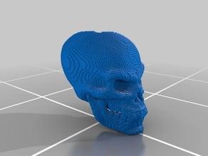 (3D Slash) skull