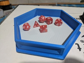 Hexagon Dice Tray