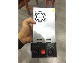 Power suply case for Hyperbot 3d printer (mod. version)