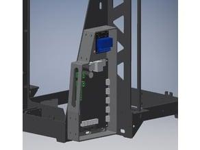 P3Steel Electronics Enclosure (MKS SBase 1.4 + 2 channel relay mounts)