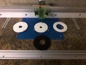 Router Table Insert, 4'' insert ring