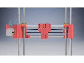 X-axis with carrige for Geeetech i3