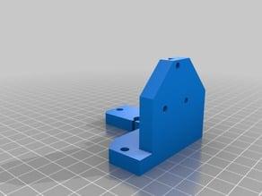 Prusa I3 Rework Z-Axis stepper Nema23 holder