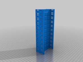 Lithium 18650 stacked no solder battery pack