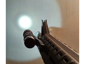 Airsoft M-LOK Flashlight holder