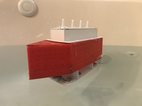 Floating Ship with Bulkheads