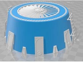 Air Handeler - Sour Cream Container Small (8oz - 250ml) Medium (16oz - 500ml) - WH40k