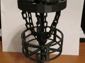 Desktop Disc Golf Basket