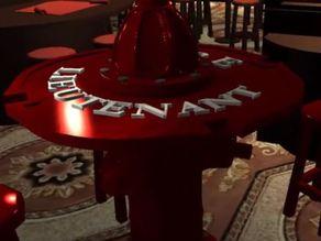 Firemen Fire Hydrant Table