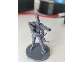 Scarred Kasathan Envoy (Starfinder)