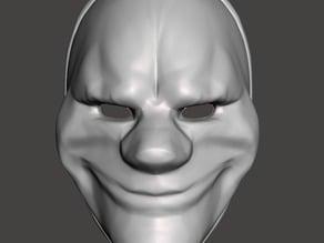 Payday 2 Dallas Mask