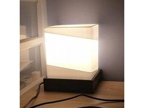 Cubic design lamp