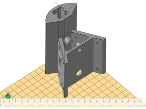 Bottom Corners for Delta printer Micromake D1