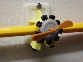 Airplane Pencil holder / Porte crayon avion