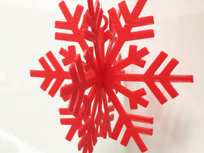 Snow Flake Ornament for your Christmas Tree