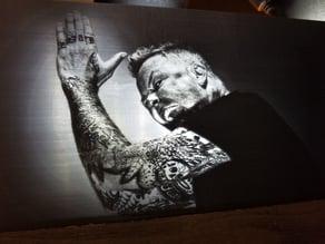 Metallica Lithophane