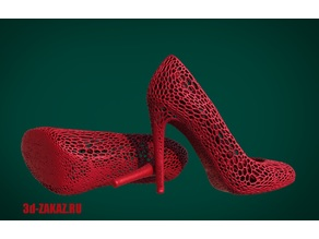 Shoes design Voronoi
