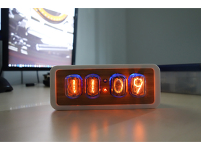 IN12 Nixie Clock Case