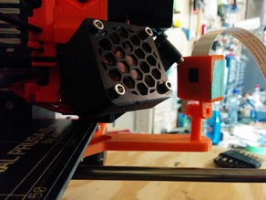 Prusa MK2 Camera Bed Extended Mount