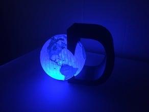 Discovery Ed Logo with LED Light
