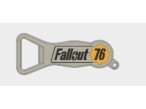 Fallout 76 Bottle Opener Keychain